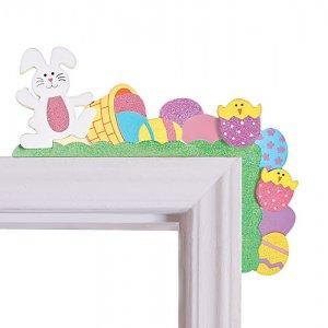 Everything Easter Door Frame Corner Sitter - Avon