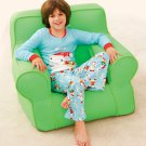 Green Personalized Inflatable Kid Chair - Avon