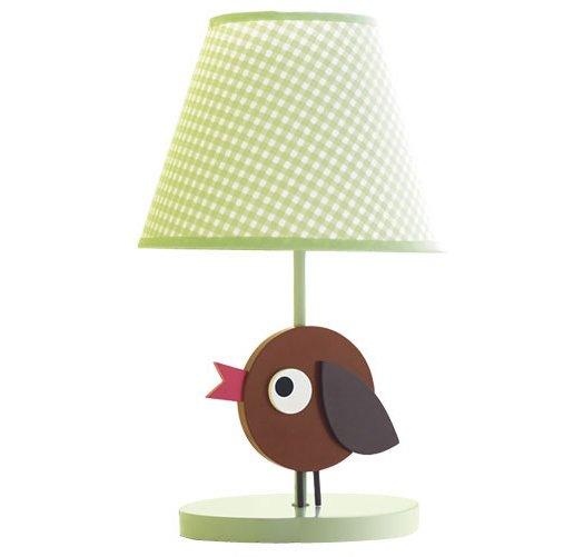 Tiny Tillia Kid's Room Bird Lamp - Avon