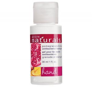 Pomegranate & Mango: Naturals Travel Antibacterial Hand Sanitizer - Avon