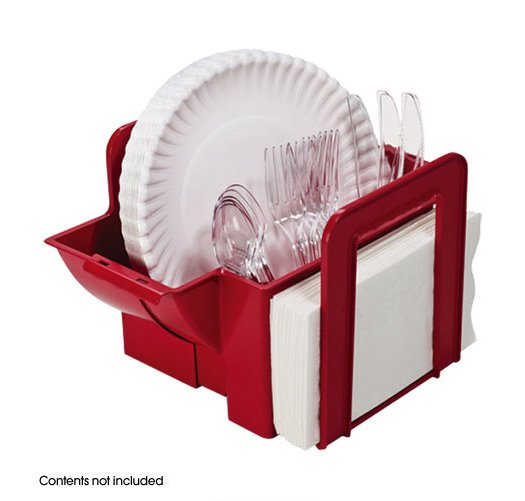 Portable Dinnerware Picnic Caddy Avon