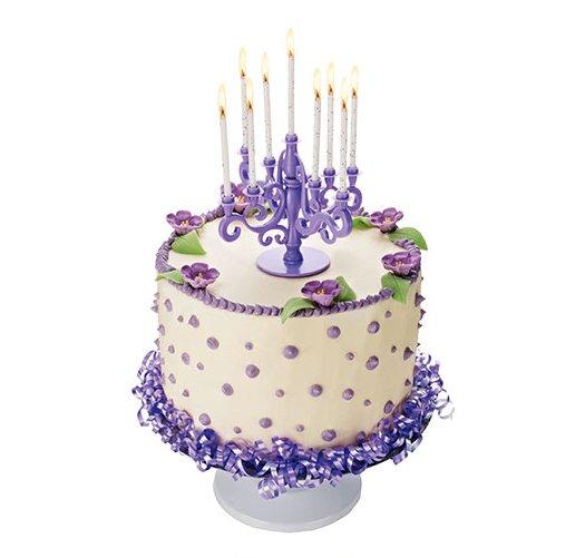 Candelabra Birthday Cake Candle Holder