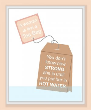 A Strong Woman print