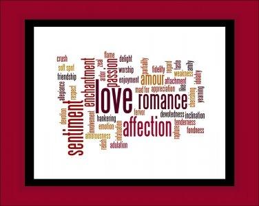 Love and Romance Print
