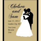 Special Remembrance Wedding Print - Personalized