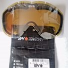 Spy + Targa II Replacement Snow Goggle Lens Yelw w Silver Mirror  Includes Pouch