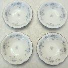 """Johann Haviland Blue Garland 5"""" Dessert Bowl 4 set, Bavaria Germany Ships Free"""