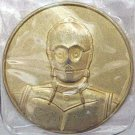 Star Wars Coin C3PO 2005 Star Wars Coin Issue in protective plastic pouch New