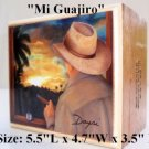 Christmas gifts ! Cigar Box w/Artworks. Dozen Paintings to choose.100% Handmade