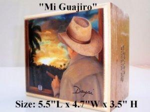 Christmas gifts ! Cigar Box w/Artworks. Dozen Paintings to choose.100% Handmade