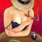 "Genuine Oil paintings 20""x 14"" ""Soledad"". Dozen Art to choose"