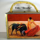 Christmas Gifts!!!. Cigar Box Purse w/Artworks . Cuban Art 100% Handmade.