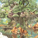 D-1000-369 Tree House of Mickey Mouse Family (Japan Tenyo Disney Jigsaw Puzzle)