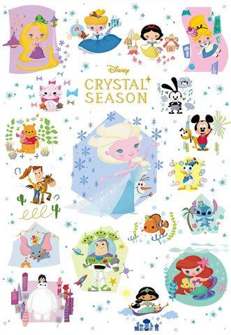 D-1000-468 Disney Crystal Season (Japan Tenyo Disney Jigsaw Puzzle)