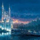 D-1000-438 Disney Castle Moment Away (Japan Tenyo Disney Jigsaw Puzzle)