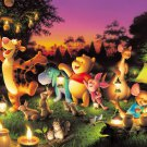 D-1000-270 Winnie the Pooh Night Party (Japan Tenyo Disney Jigsaw Puzzle)