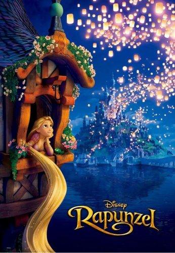 D-1000-404 Disney Princess Rapunzel - Tower Future Light (Japan Tenyo Disney)