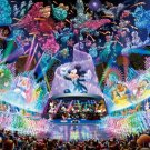 D-2000-604 Disney Water Dream Concert Mickey (Japan Tenyo Disney Jigsaw Puzzle)