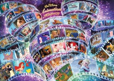 D-2000-618 Disney Animation History Mickey Mouse (Tenyo Disney Jigsaw Puzzle)