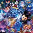 DW-1000-414 It's Magic Mickey Mouse (Japan Tenyo Disney Jigsaw Puzzle)