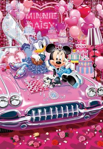 DW-1000-415 Disney Minnie Mouse and Daisy Duck (Tenyo Disney Jigsaw Puzzle)