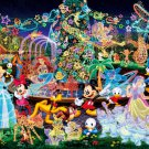 DW-1000-449 Magical Illumination All Stars (Japan Tenyo Disney Jigsaw Puzzle)