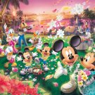 DW-1000-361 Minnie Mickey Hawaii's Wedding Party (Tenyo Disney Jigsaw Puzzle)
