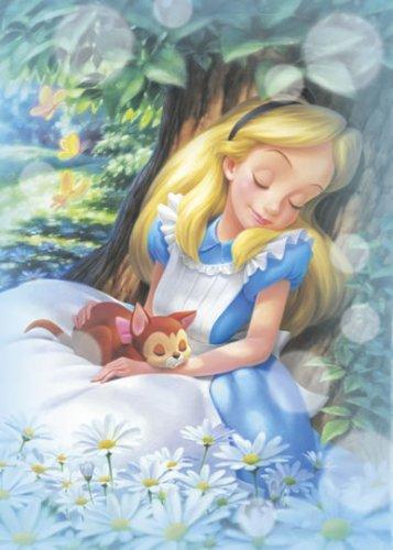 D-500-383 Alice in Wonderland Sleeping and Dreaming (Tenyo Disney Jigsaw Puzzle)