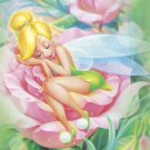 D-500-384 Tinker Bell in a Rose (Japan Tenyo Disney Jigsaw Puzzle)