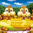 D-500-386 Chip n Dale and Corn (Japan Tenyo Disney Jigsaw Puzzle)