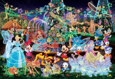 D-500-391 Disney All Characters Night Party (Japan Tenyo Disney Jigsaw Puzzle)