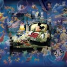 D-500-407 Mickey Mouse in a Dream (Japan Tenyo Disney Jigsaw Puzzle)