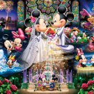 D-500-430 Minnie Mickey Mouse Church Wedding (Japan Tenyo Disney Jigsaw Puzzle)