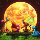 DSG-266-733 Disney Winnie the Pooh Moon Light (Japan Tenyo Disney Jigsaw Puzzle)