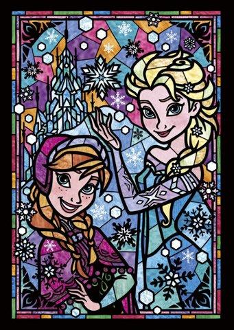 DSG-266-753 Disney Frozen Ana and Elsa (Japan Tenyo Disney Jigsaw Puzzle)