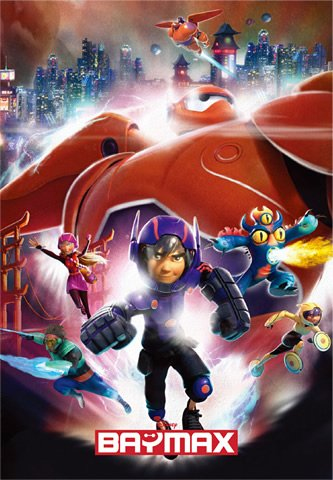 DSG-266-755 Disney Baymax Big Hero 6 (Japan Tenyo Disney Jigsaw Puzzle)