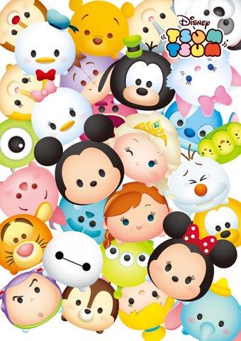 DSG-266-759 Disney TSUM TSUM Collection (Japan Tenyo Disney Jigsaw Puzzle)