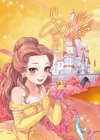 DSG-266B-782 Disney Princess Belle Beauty and the Beast (Japan Tenyo Disney)