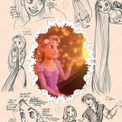 D-108-792 Disney Crystal Season Princess Rapunzel (Tenyo Disney Jigsaw Puzzle)