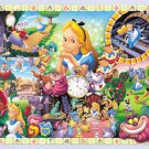 D-108-966 Disney Alice in Wonderland (Japan Tenyo Disney Jigsaw Puzzle)