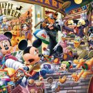 D-108-744 Disney Minnie Mickey Mouse Happy Halloween (Tenyo Disney Puzzle)