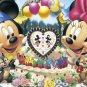 D-200-890 Disney Mickey Mouse and Minnie Mouse (Tenyo Disney Jigsaw Puzzle)