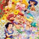 D-300-203 Disney Six Princess Cinderella Jasmine Snow White Aladdin (Tenyo)