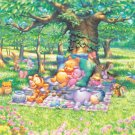 D-300-204 Disney Winnie the Pooh (Japan Tenyo Disney Jigsaw Puzzle)