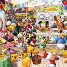 D-300-216 Disney Mickey Minnie Mouse Party Shop (Tenyo Disney Jigsaw Puzzle)