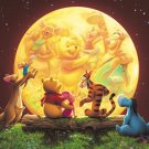 D-300-180 Disney Winnie the Pooh and Moon (Japan Tenyo Disney Jigsaw Puzzle)
