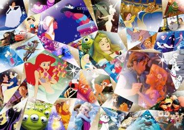 D-300-279 Disney Crystal Season All Characters (Tenyo Disney Jigsaw Puzzle)