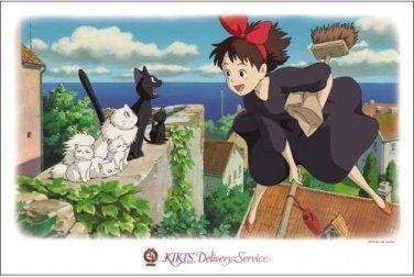 AB-1000-235 KIKI's Delivery Service (Hayao Miyazaki Ensky Ghibli Jigsaw Puzzle)