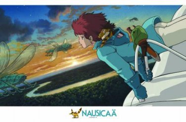 AB-1000-254 Nausicaa of the Valley of the Wind (Ensky Studio Ghibli Puzzle)