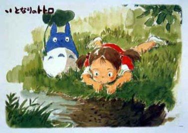 AB-500-246 My Neighbor Totoro (Hayao Miyazaki Ensky Studio Ghibli Jigsaw Puzzle)